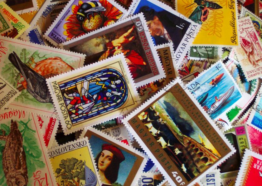 Postzegels 1