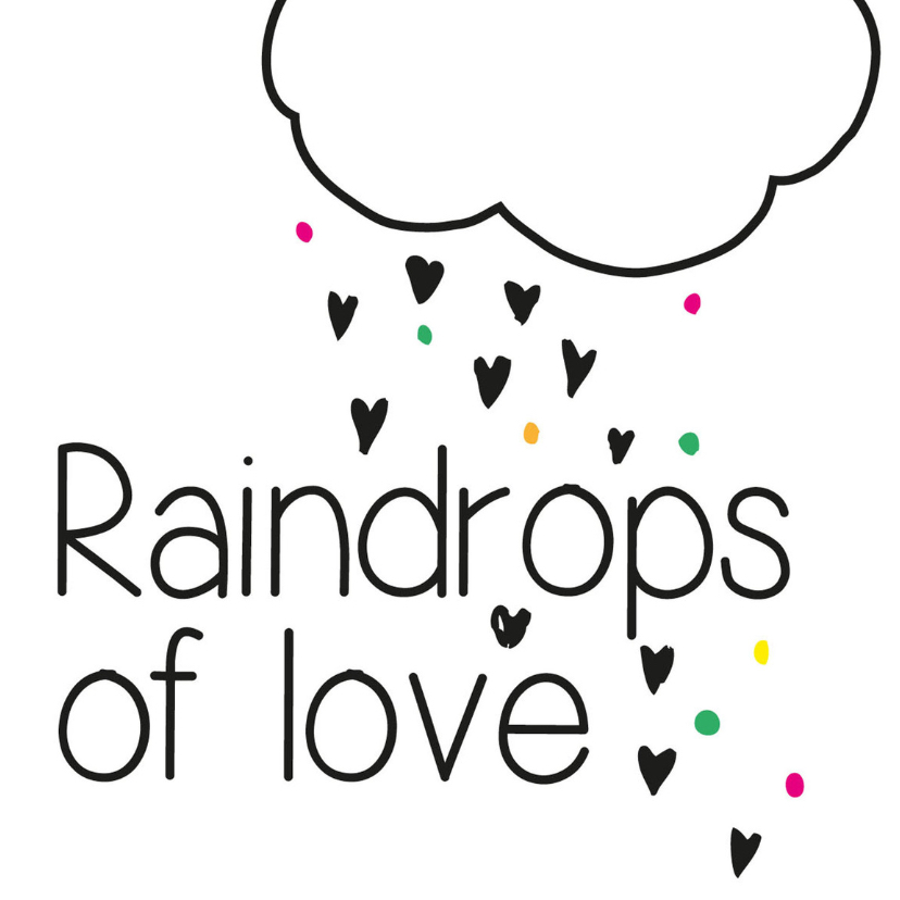 Zomaar kaarten - Raindrop of love