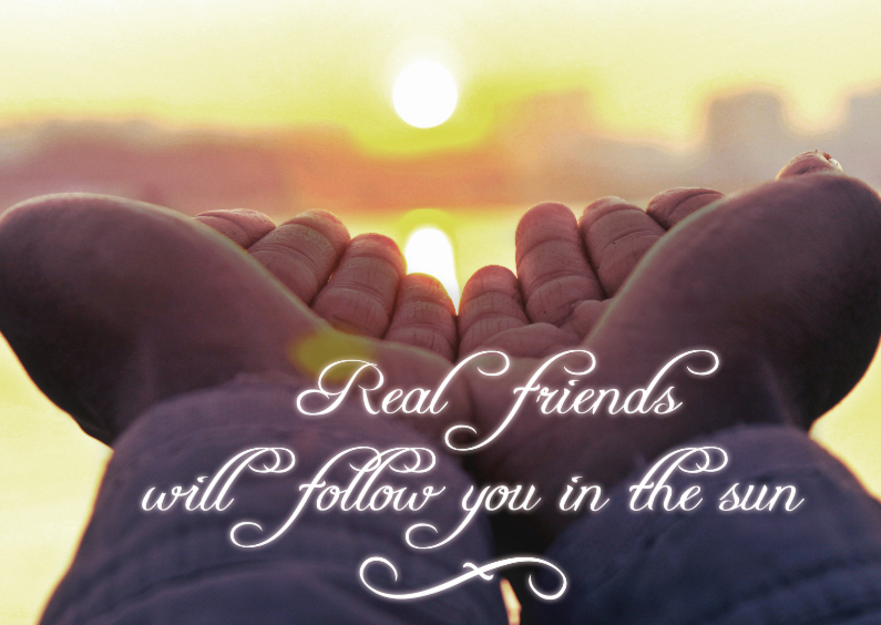 Zomaar kaarten - Real friends - BK