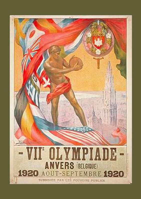 Zomaar kaarten - Reclameposter 1920
