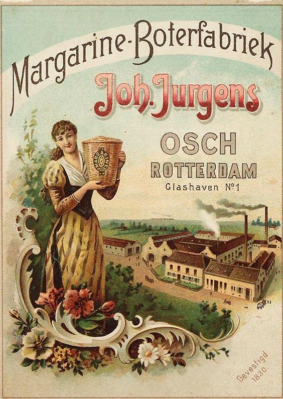 Zomaar kaarten - Reclameposter boterfabriek