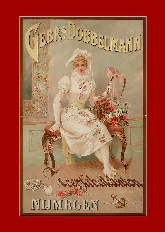 Zomaar kaarten - Reclameposter Dobbelman