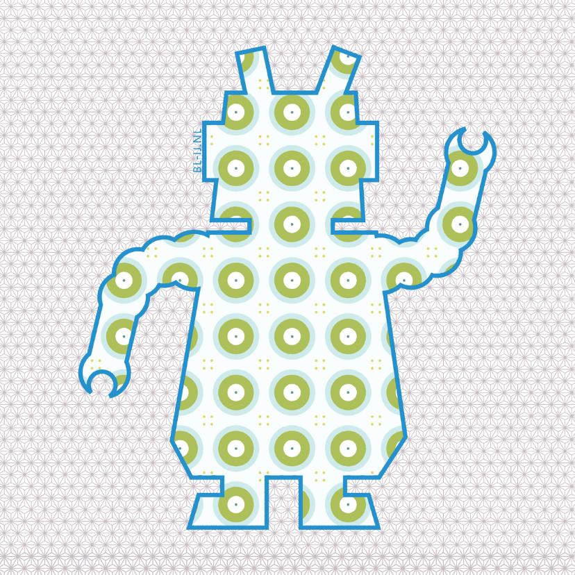 Zomaar kaarten - Robot