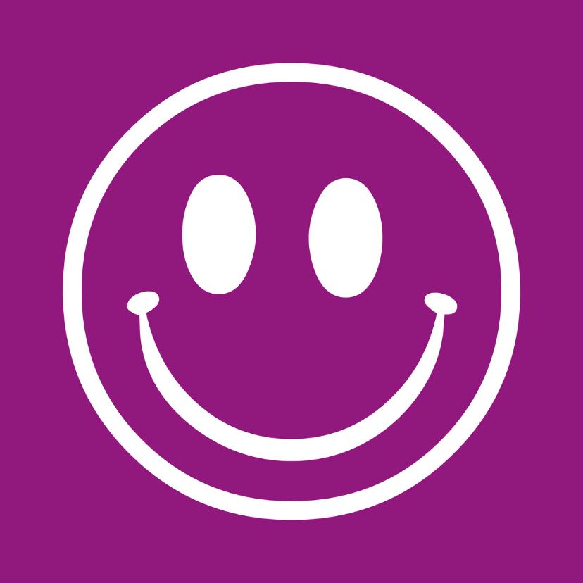 Zomaar kaarten - Smiley I