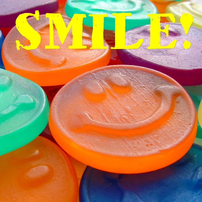 Zomaar kaarten - Smiley kaart