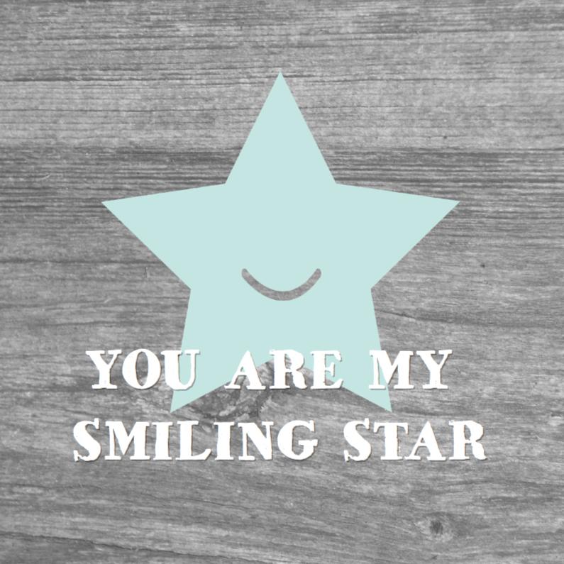 Zomaar kaarten - Smiling Star