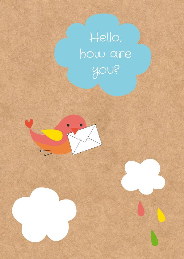 Sterkte kaarten - Sterktekaart- Brief van Vogel-HK