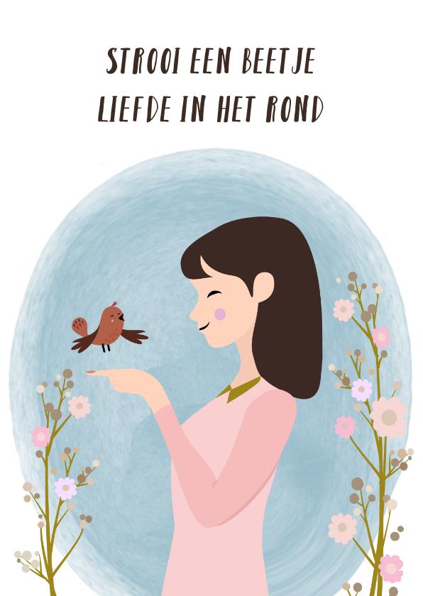 Zomaar kaarten - Strooi een beetje liefde in het rond