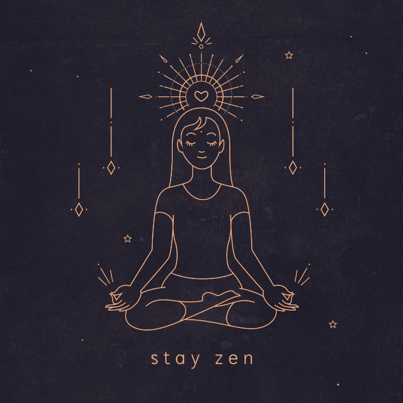 Zomaar kaarten - Succes kaart Zen