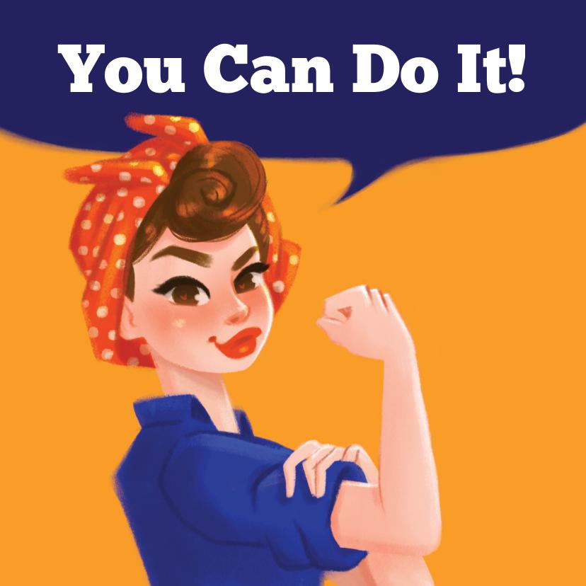 Zomaar kaarten - Succeskaart You Can Do It!