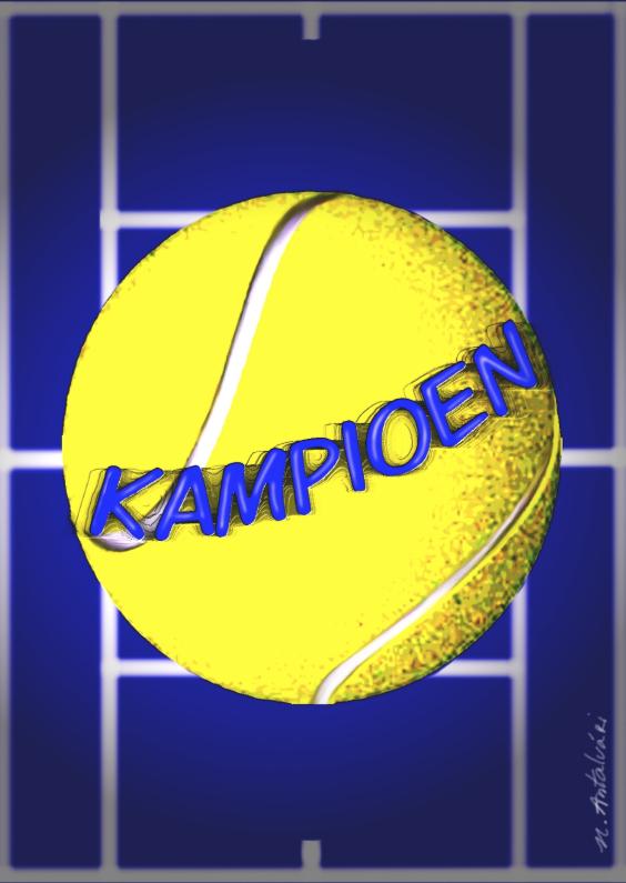 Zomaar kaarten - Tennis Kampioen