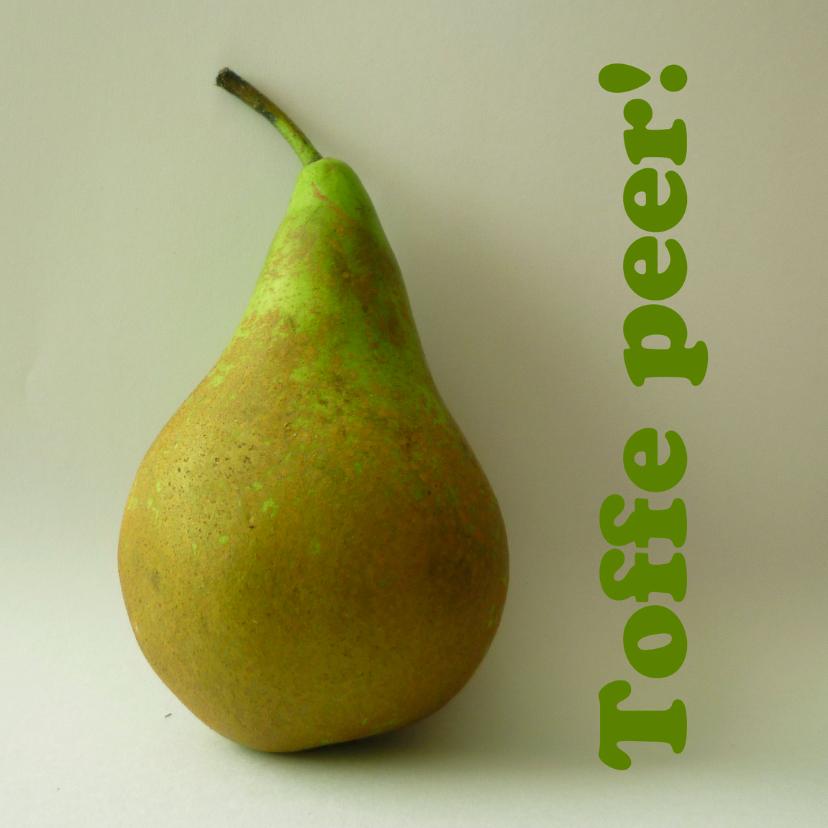 Zomaar kaarten - Toffe peer!