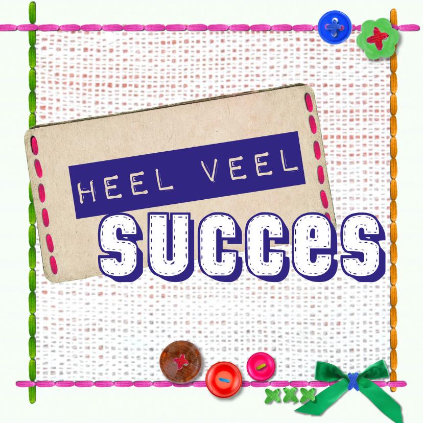 Zomaar kaarten - veel succes -BF