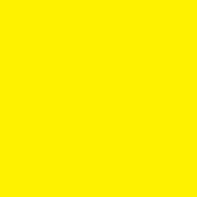 Zomaar kaarten - Vierkant enkel geel