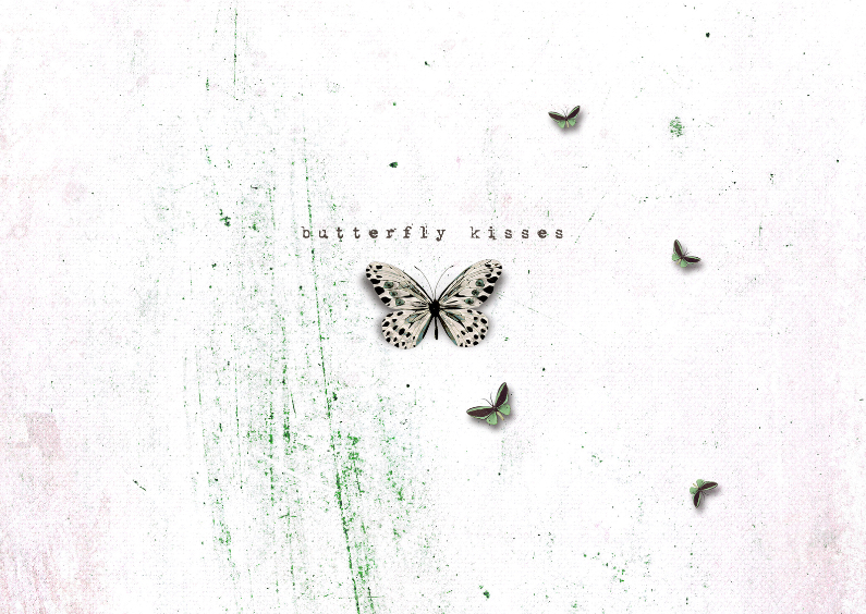 Zomaar kaarten - Vlinder Kusjes - JD