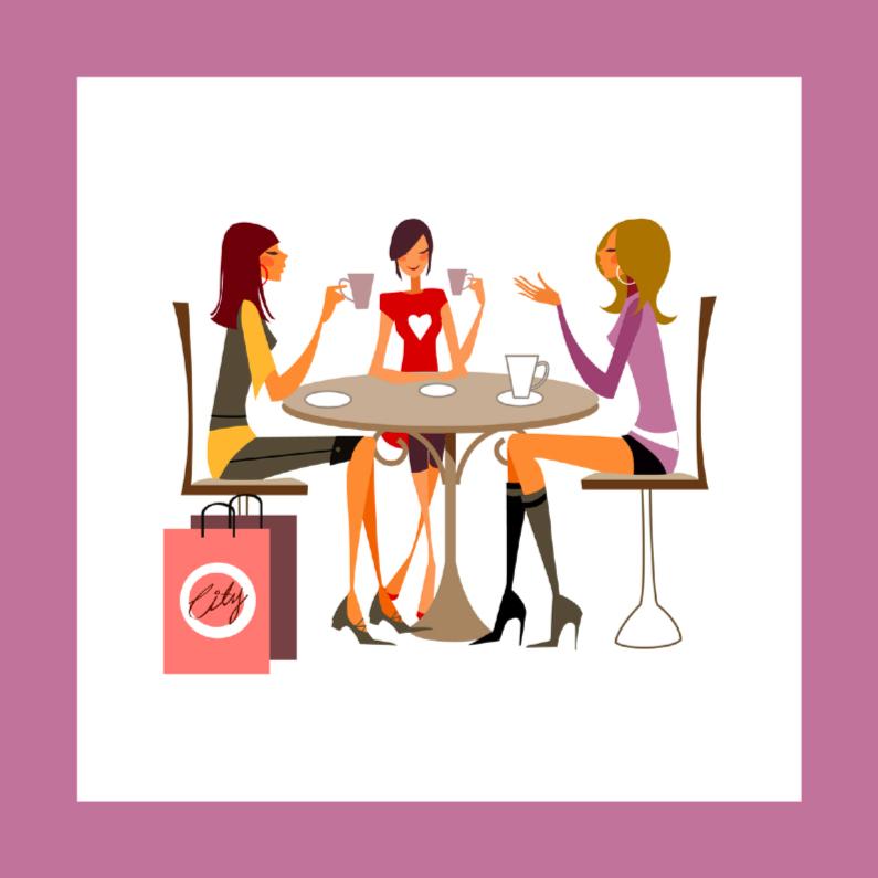 Zomaar kaarten - Vriendinnen Chill homy