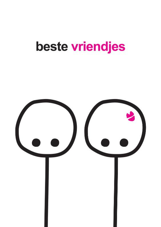 Zomaar kaarten - Vriendschap Mimiez Beste Vriendjes