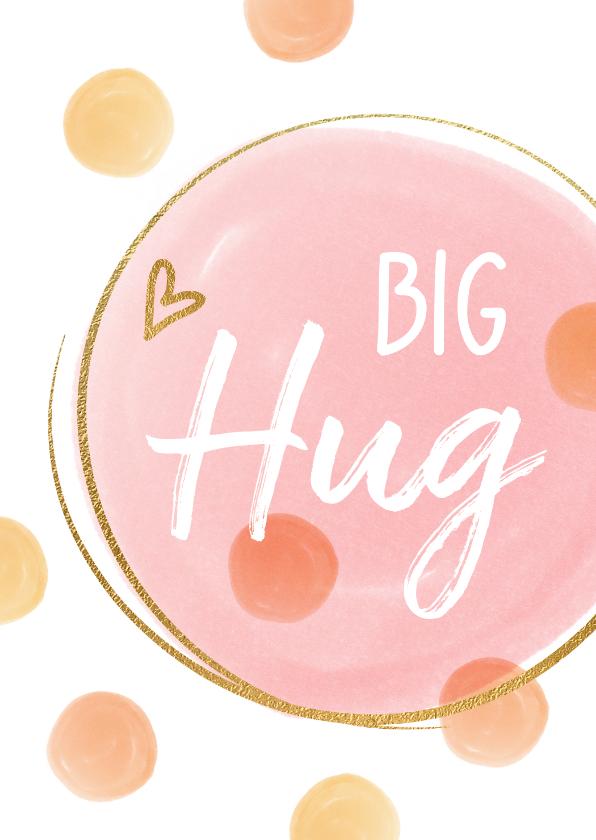 Zomaar kaarten - Vrolijke kaart Big Hug