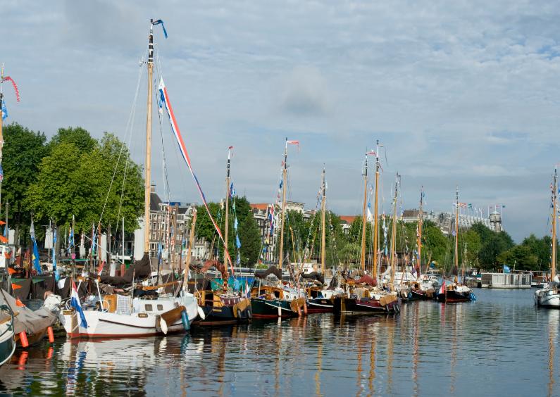 Zomaar kaarten - Zeilschepen Oosterdok Amsterdam