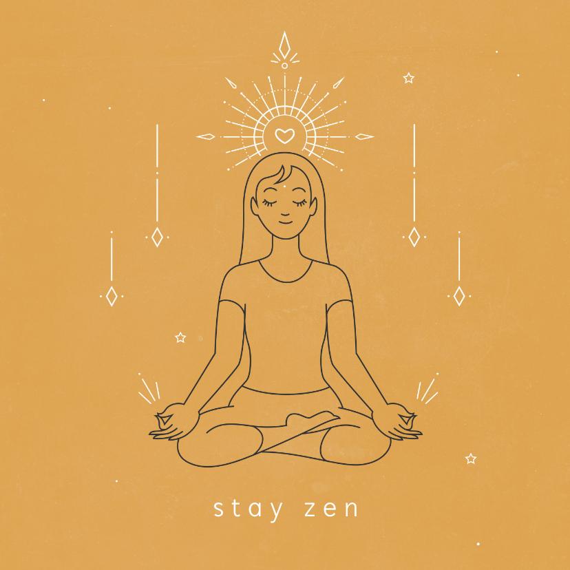 Zomaar kaarten - Zen coachingskaart