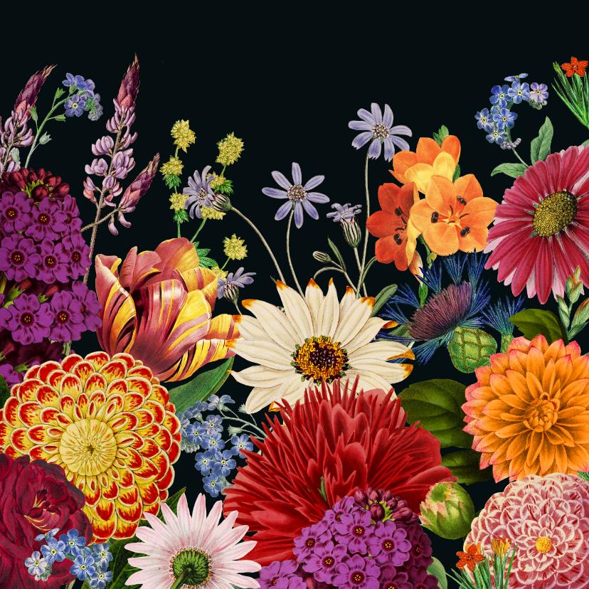 Zomaar kaarten - Zomaar, bloemen voor jou