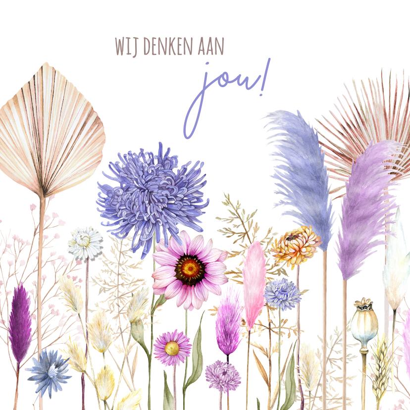 Zomaar kaarten - Zomaar bloemenveld