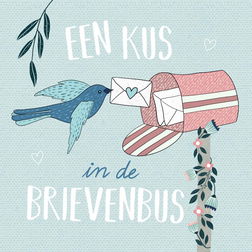 Zomaar kaarten - Zomaar - Een kus in de brievenbus