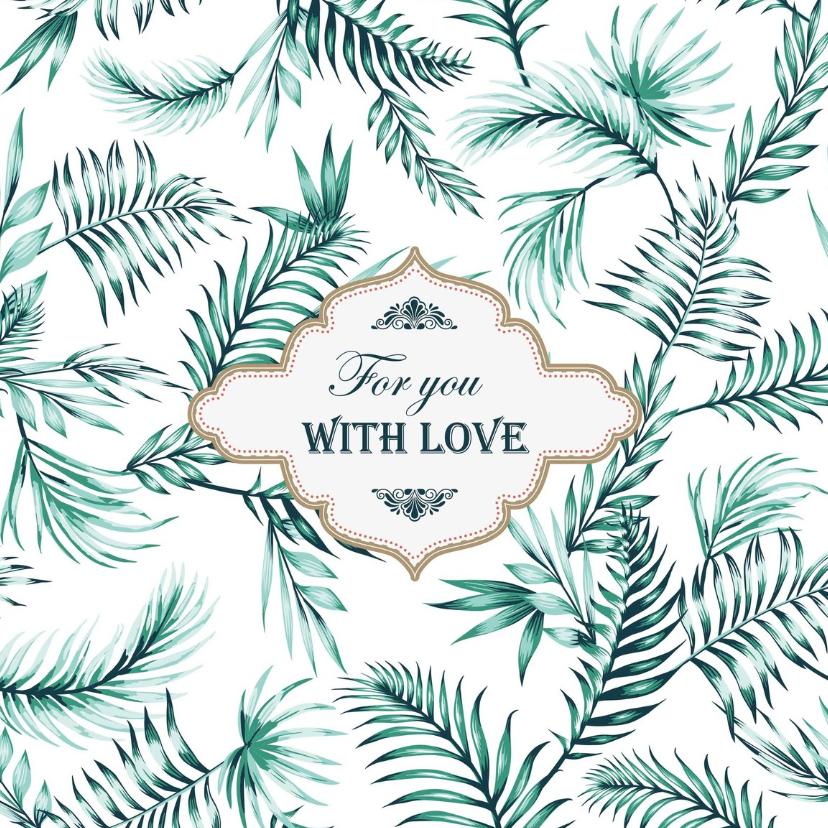 Zomaar kaarten - Zomaar - For you with love