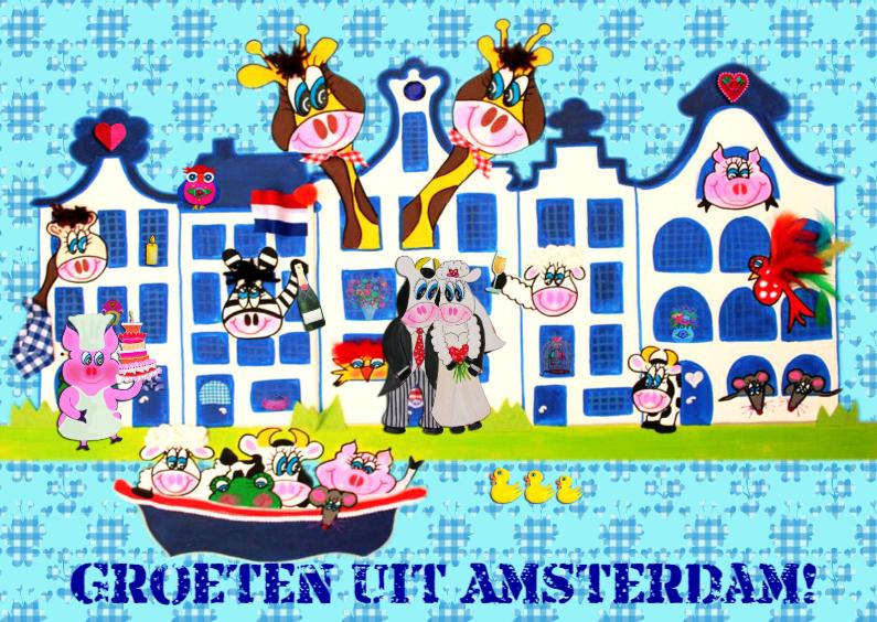 Zomaar kaarten - Zomaar kaart Amsterdam PA