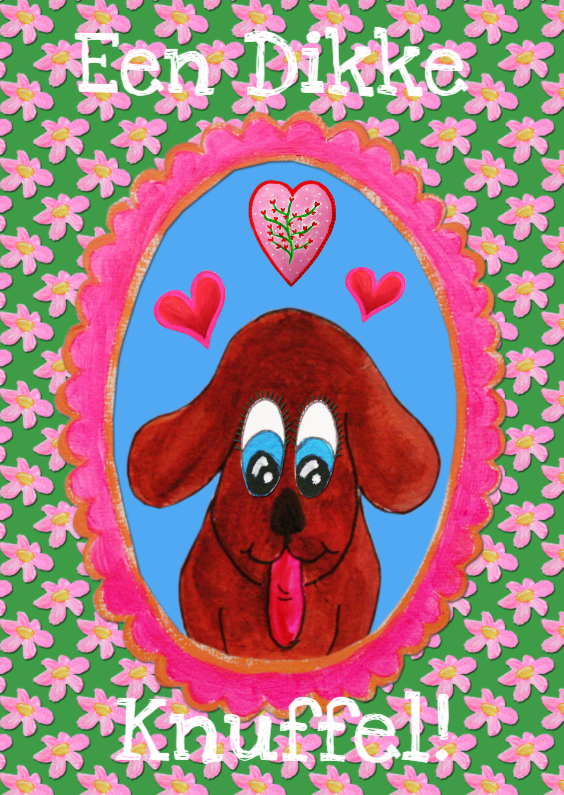 Zomaar kaarten - Zomaar Kaart Hond PA
