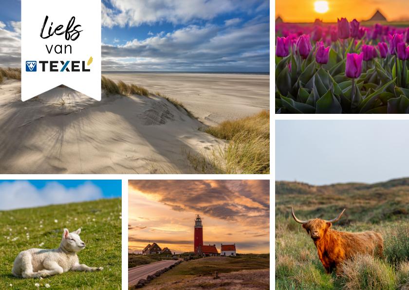 Zomaar kaarten - Zomaar kaart met impressie van Texel
