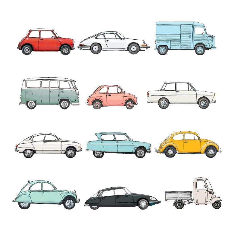 Zomaar kaarten - Zomaar kaart oldtimers auto