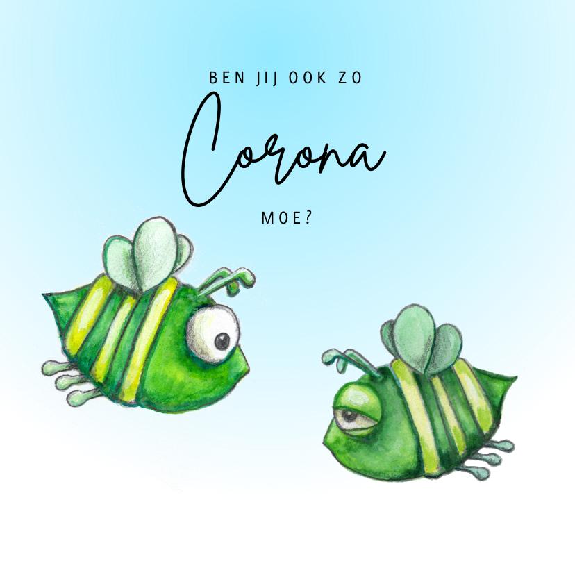 Zomaar kaarten - Zomaar kaarten Corona moe