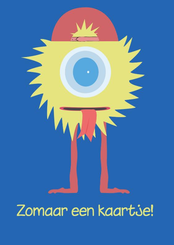 Zomaar kaarten - Zomaar Kaartje Monstertje!