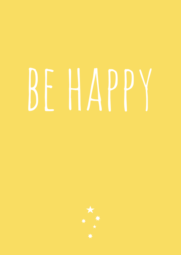 Zomaar kaarten - zomaarkaart Happy